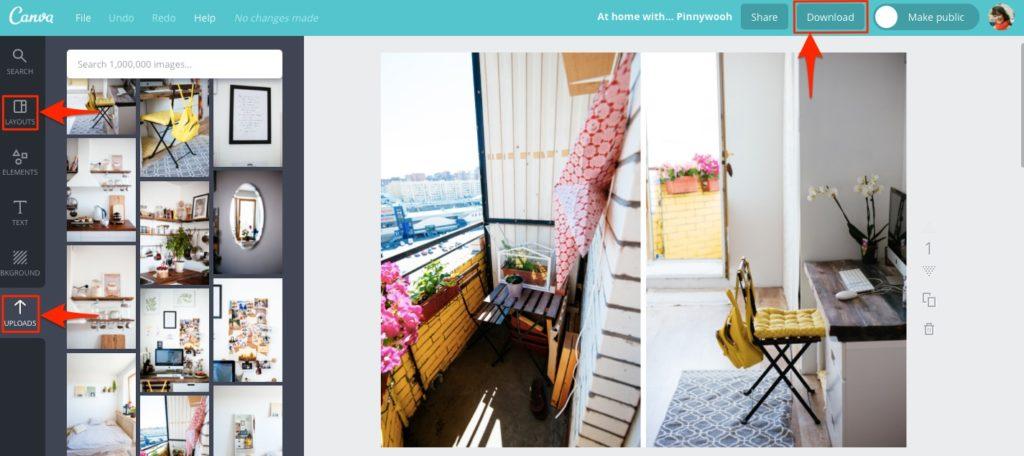 Создание коллажа с помощью сервиса Canva | Блог Варвары Лялягиной Start Blog Up