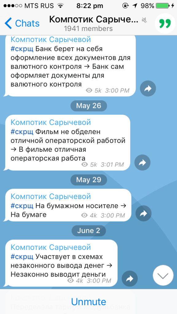Мои любимые Телеграм каналы для тех, кто пишет тексты | Блог Варвары Лялягиной Start Blog Up