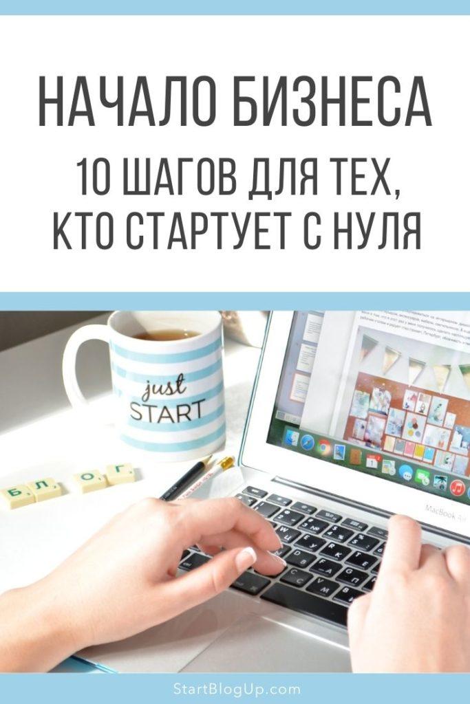 Начало бизнеса: 10 шагов для тех, кто стартует сейчас | Блог Варвары Лялягиной StartBlogUp.com